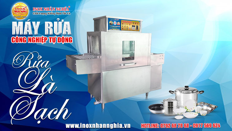 Lợi ích của máy rửa chén công nghiệp