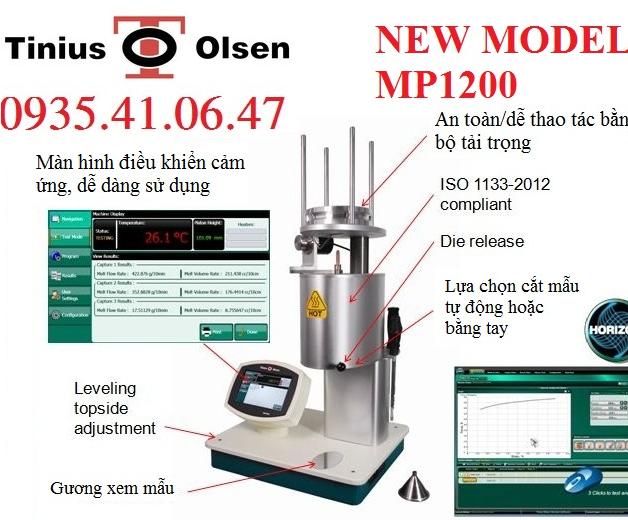 Máy Đo Chỉ Số Chảy MP1200 Tinius Olsen