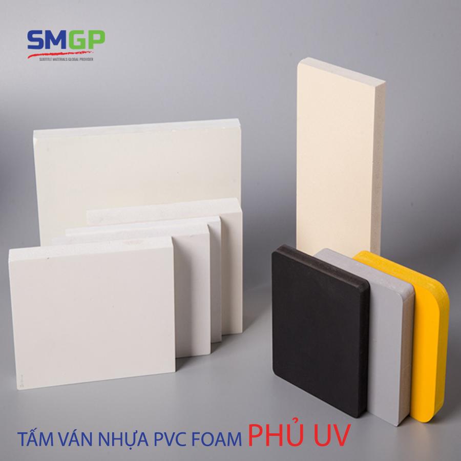 Tấm ván nhựa PVC phủ UV