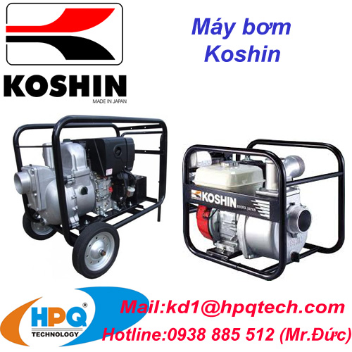 Máy bơm Koshin - Koshin tại Việt Nam