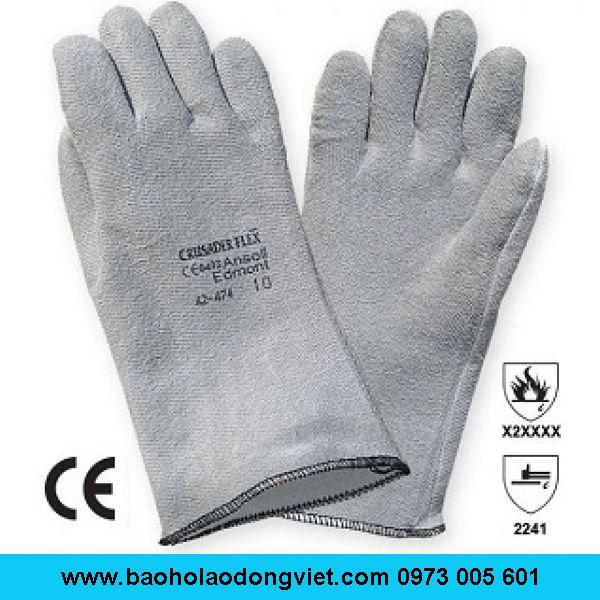 Găng tay bảo hộ chịu nhiệt Ansell 42-474
