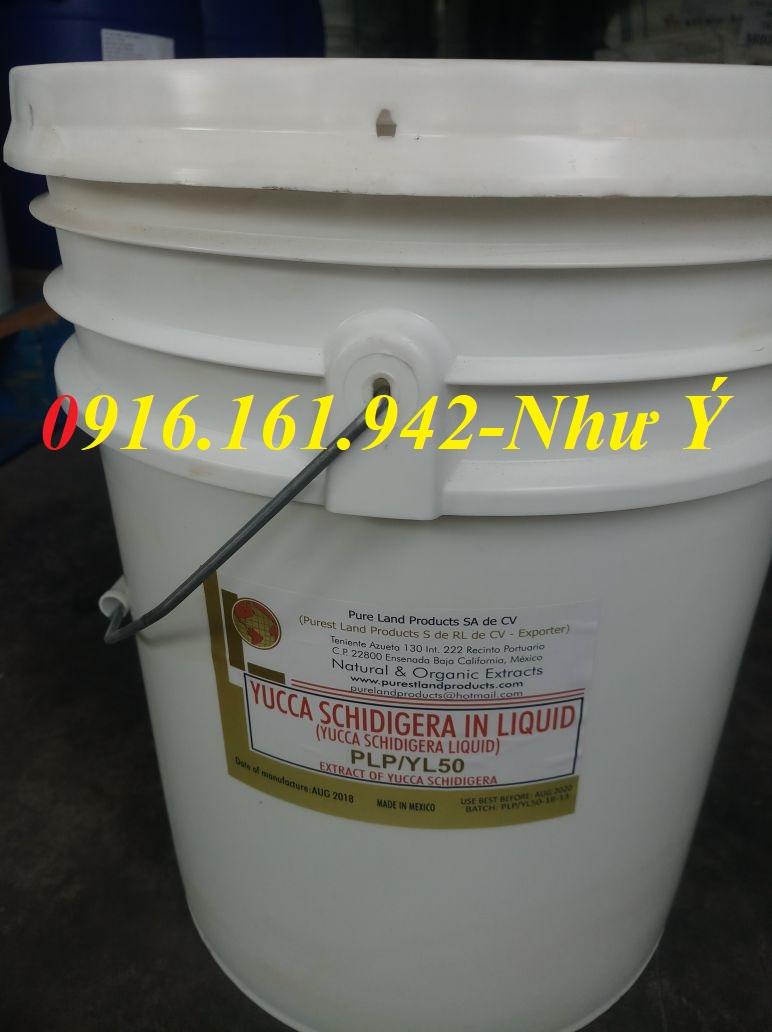 Yucca nguyên liệu dạng bột, dạng nước, Mexico Mới 100%, YUCCA SCHIDIGERA LIQUID