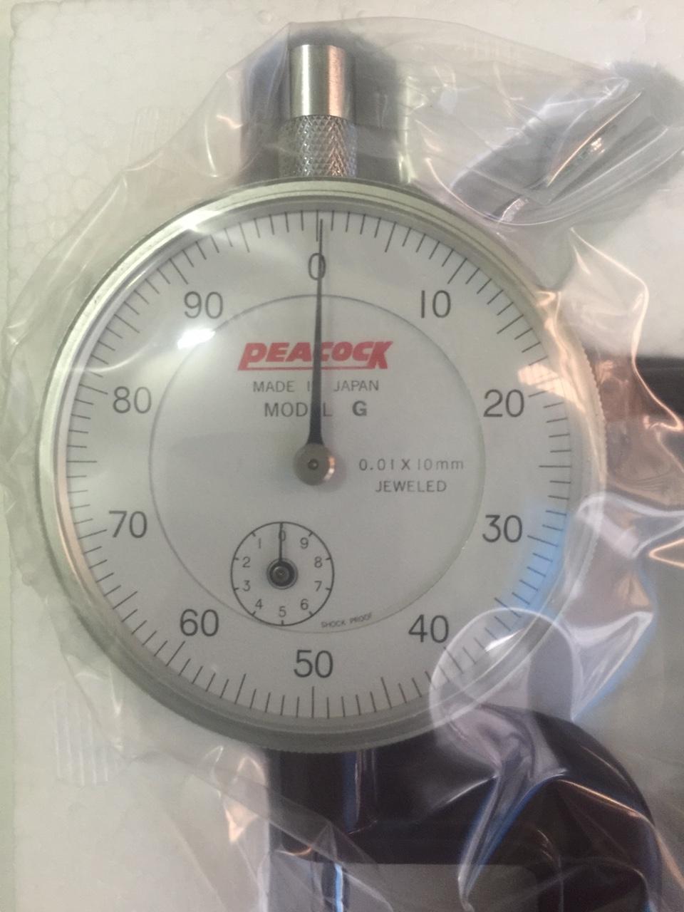 Đồng hồ đo độ dày Peacock model G, thickness gauge