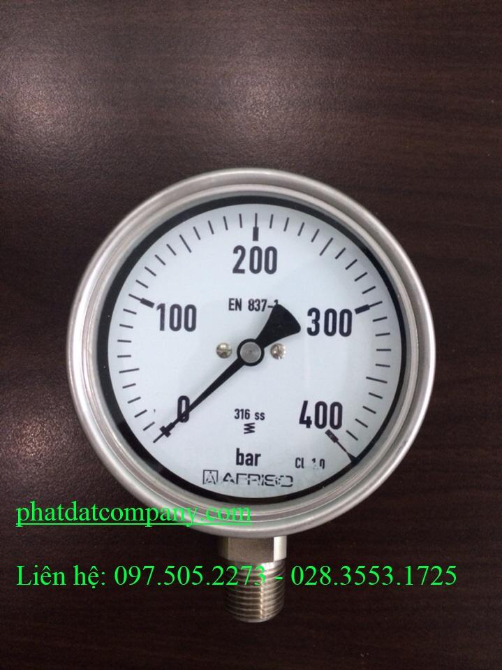 Đồng hồ đo áp suất, đo áp lực,đồng hồ afriso, đồng hồ đo áp suất afriso, đồng hồ đo áp suất afriso Đức