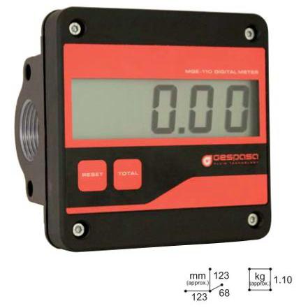 Đồng hồ đo lưu lượng dầu đồng hồ đo dầu điện tử GESPASA