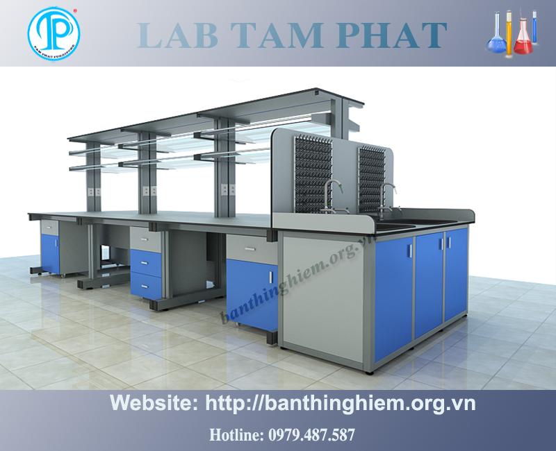 Bàn thí nghiệm trung tâm BTNTT02