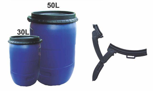 Thùng phuy nhựa 30 lit đựng hóa chất