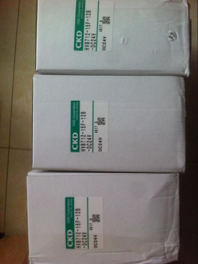CKD HVB712-15F-12B-DC24V