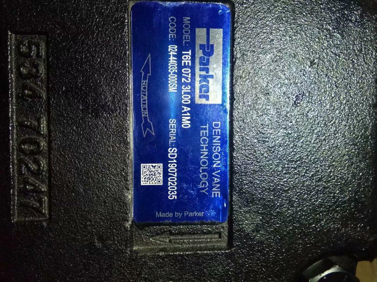 PARKER T6E 072 3L00 A1M0