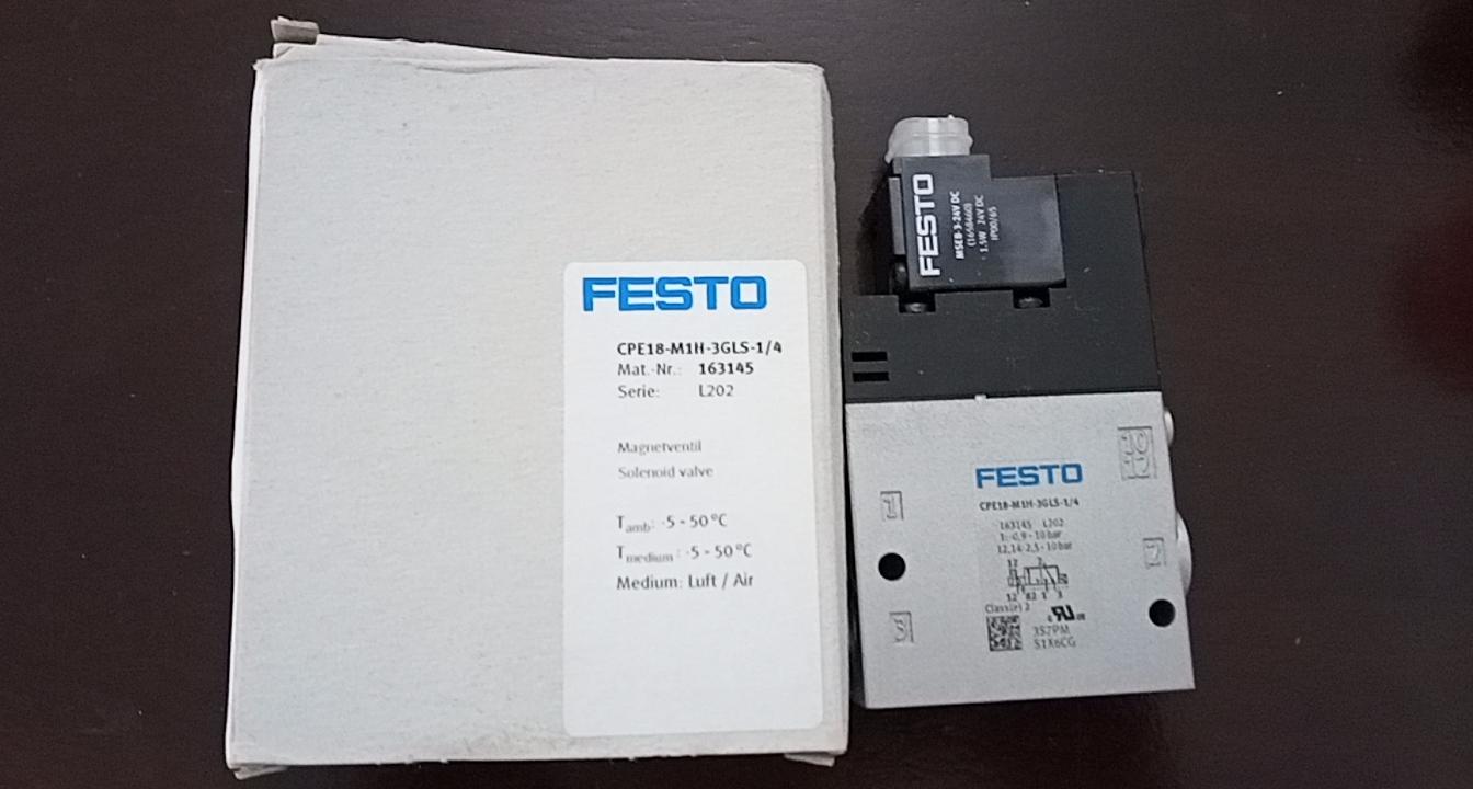 Van điện từ FESTO CPE18-M1H-3GLS-1/4
