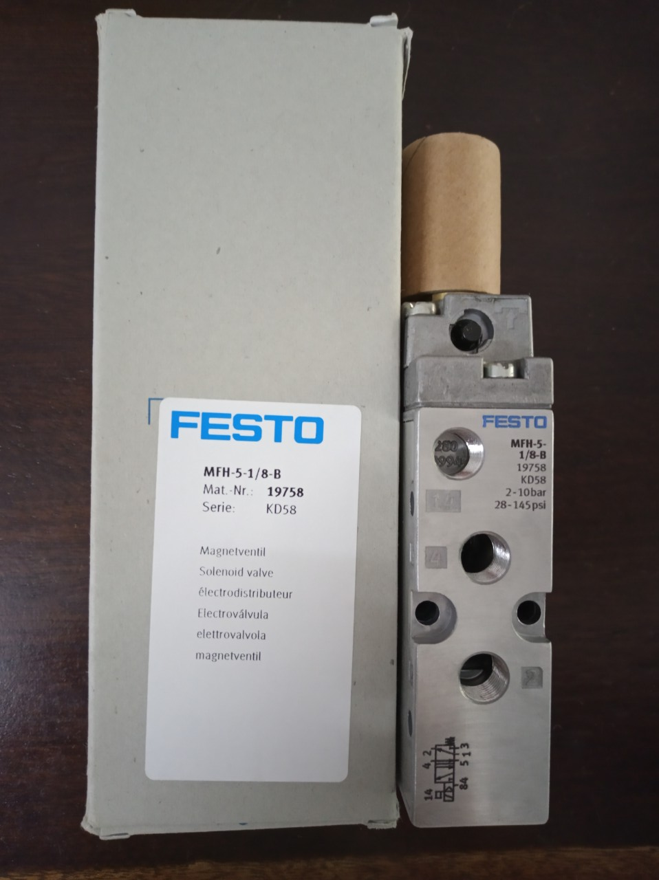 Van FESTO MFH-5-1/8-B