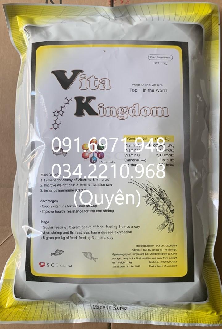 Mua bán Vitamin tổng hợp-Vitamin kingdom nguyên liệu Hnà Quốc cho tôm cá giá tốt