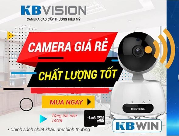 Camera Wifi Kbvision KBWIN-H1 tại Cần thơ