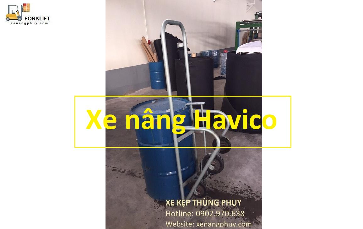 Cung cấp Xe kẹp thùng phuy dầu giá rẻ nhất Việt Nam, xe kẹp phuy dầu giá kho