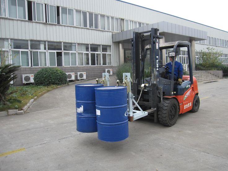 xe nâng kẹp thùng phuy chất lượng cao