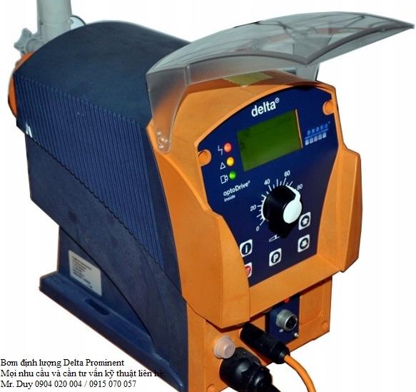 Bơm định lượng Delta Prominent, thiết bị đo PH, CL2