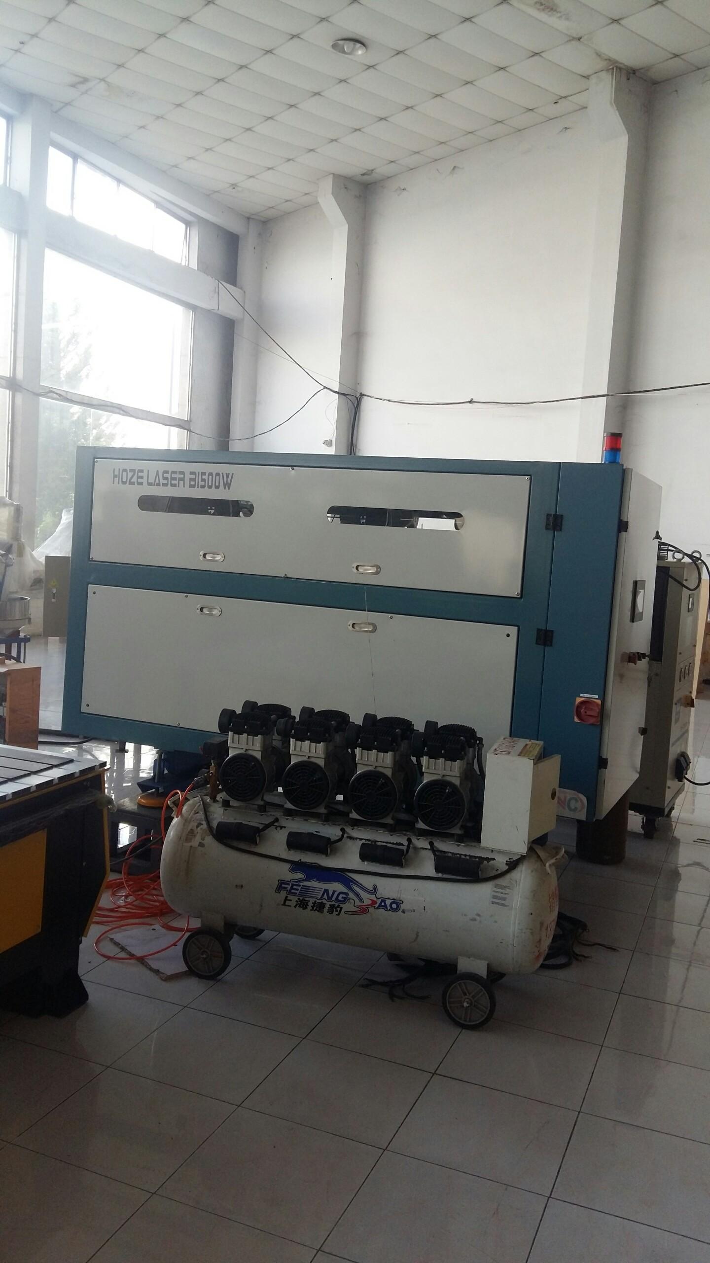 máy laser chuyên cắt gỗ hoze laser B1500w