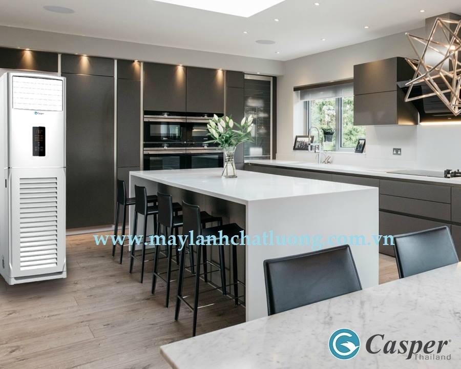 Chuyên bán và  lắp đặt máy lạnh tủ đứng Casper cho văn phòng công ty trọn gói giá rẻ