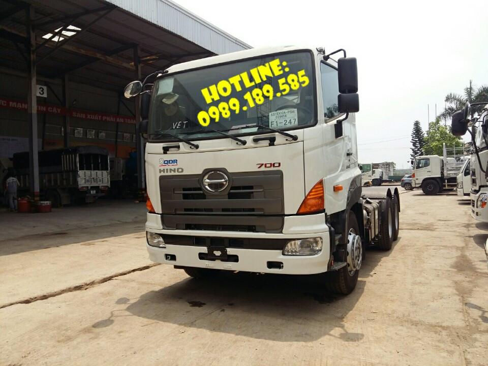 Giá xe đầu kéo Hino nhập khẩu Hino Trung Quốc SS2P-406s