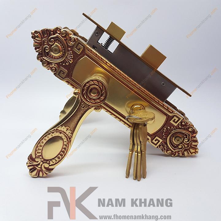 Khóa cửa gỗ thông phòng NK180M-RC