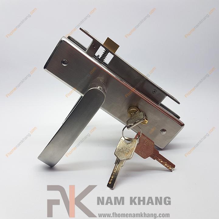 Khóa cửa thông phòng inox NK191M-INOX