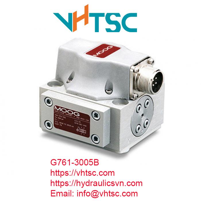 G761-3005B. Van servo Moog G761-3001B