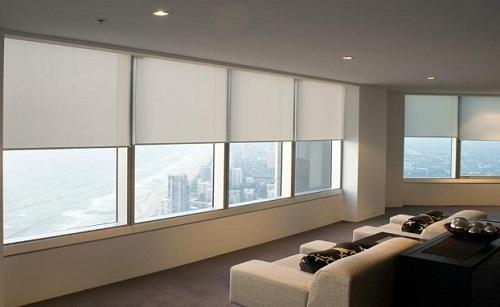 Giới thiệu một số mẫu rèm cửa sổ phòng khách đẹp