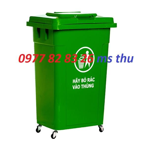 thùng rác 90l, thùng rác 95l lh 0977828326