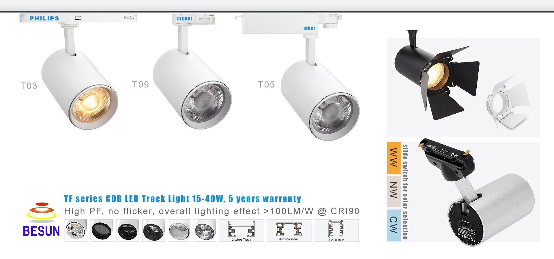 Đèn LED rọi thanh ray – T01 Series
