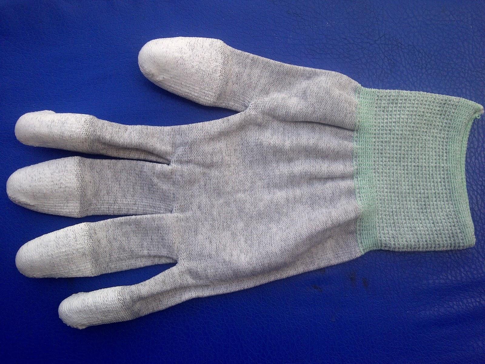 Găng tay phủ ngón pu chống tĩnh điện