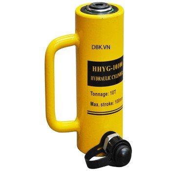 Kích thủy lực 1 chiều 10 tấn hành trình 100mm TLP HHYG-10100