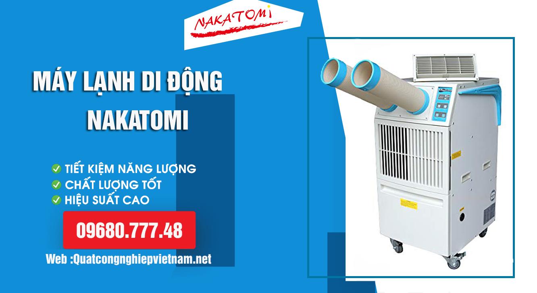 Bán máy lạnh di động Nakatomi SAC 3500 giá rẻ