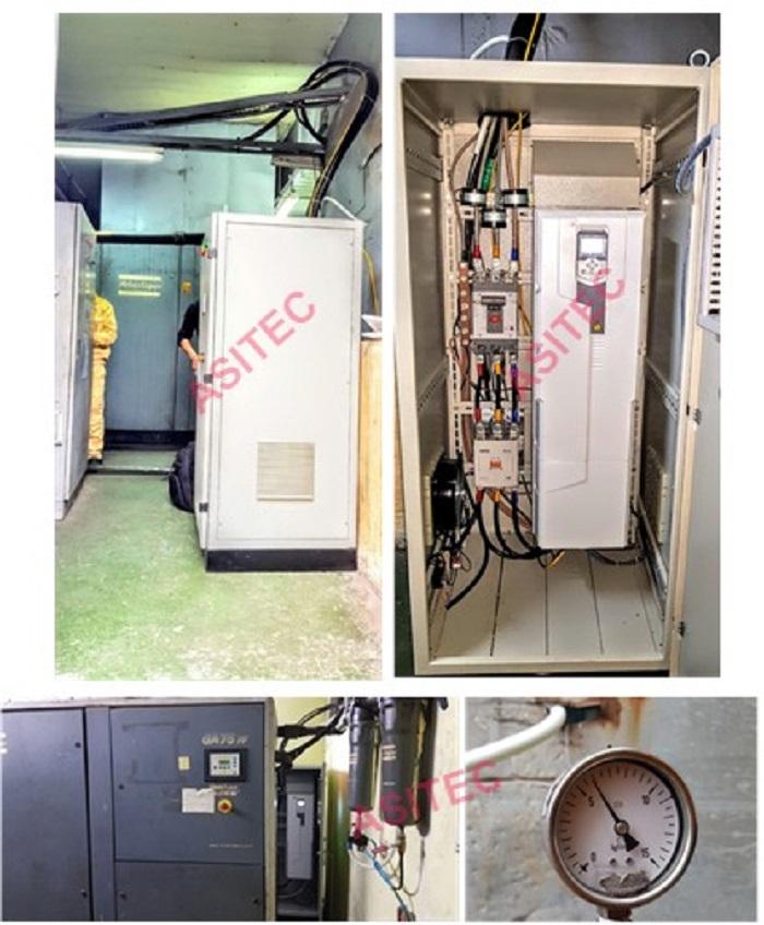 Giải pháp tiết kiệm năng lượng cho máy nén khí