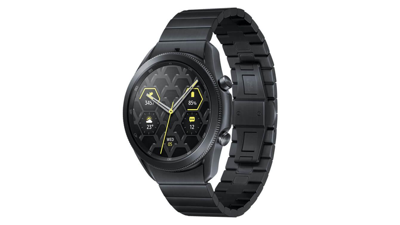 Samsung Galaxy watch 3 bản Titanium?