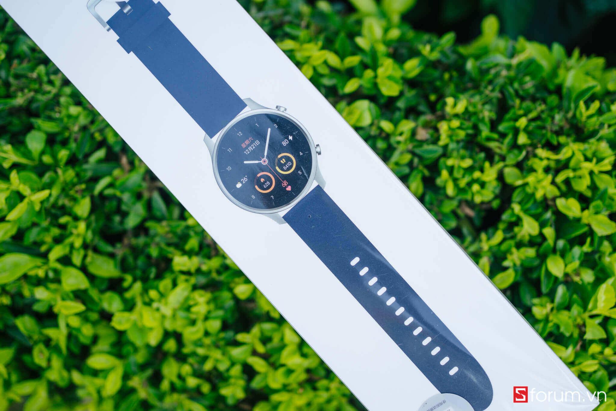 xiaomi mi watch color resolve bản quốc tế