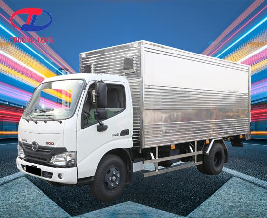 Xe tải thùng kín tổng tải 8,5 tấn