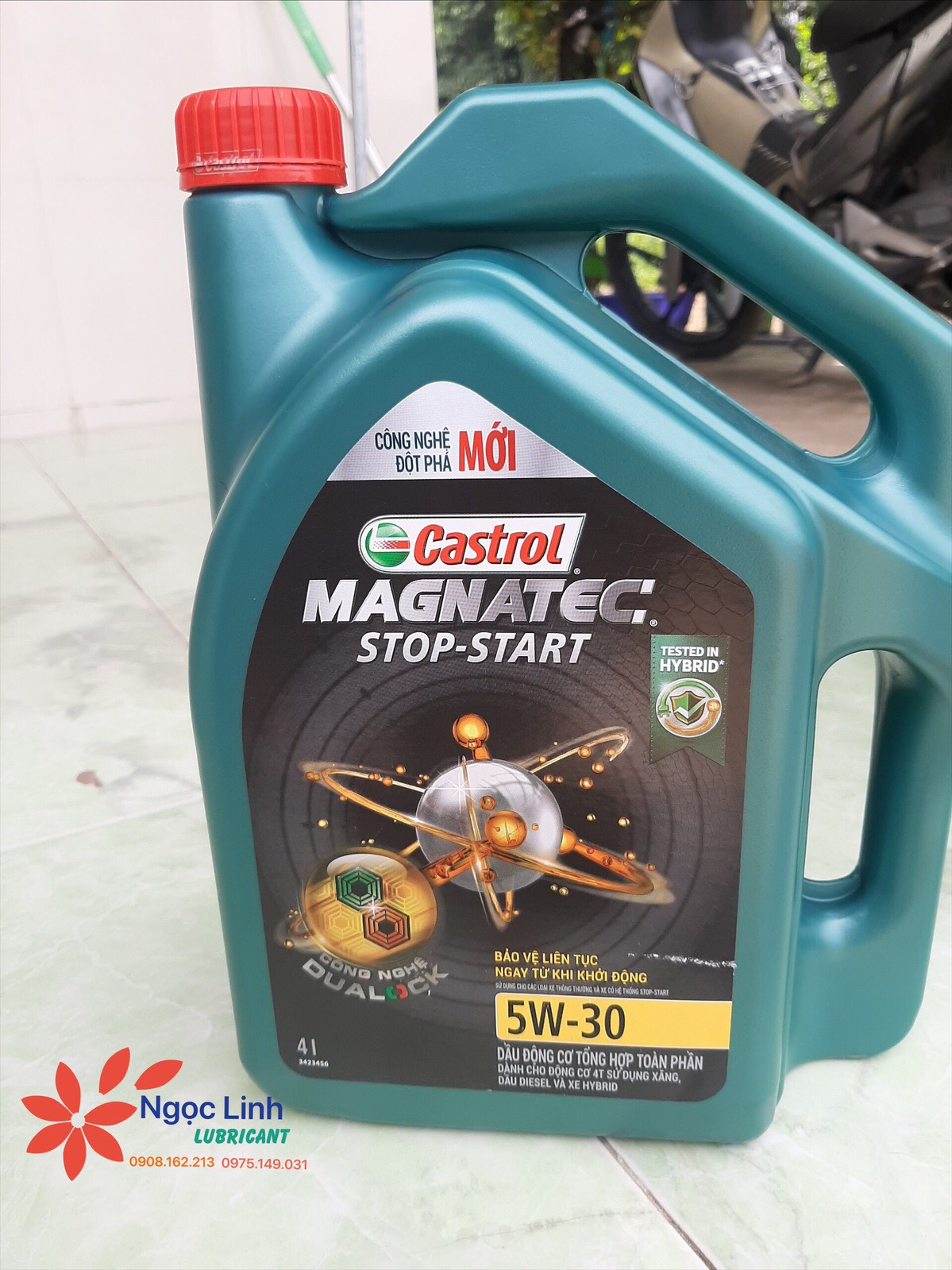 Castrol magnatec stop-start 5w30