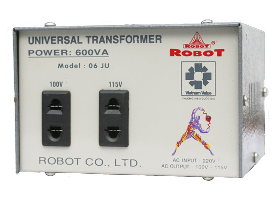 Biến thế điện Robot - 600VA