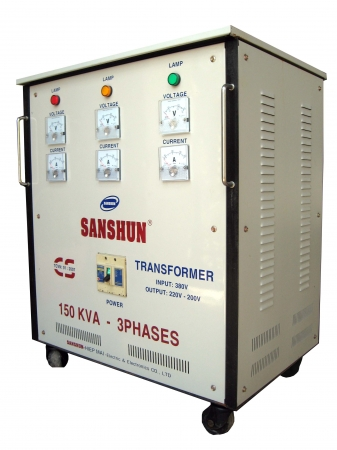 Biến thế điện SANSHUN - 150KVA