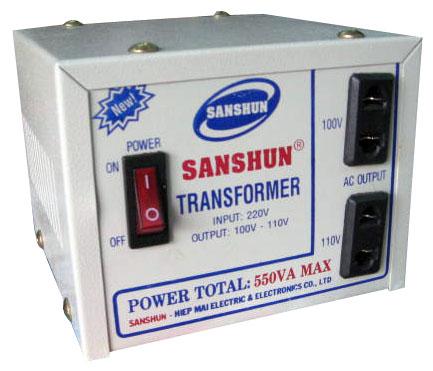 Biến thế điện SANSHUN - 550VA