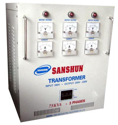 Biến thế điện SANSHUN - 75KVA