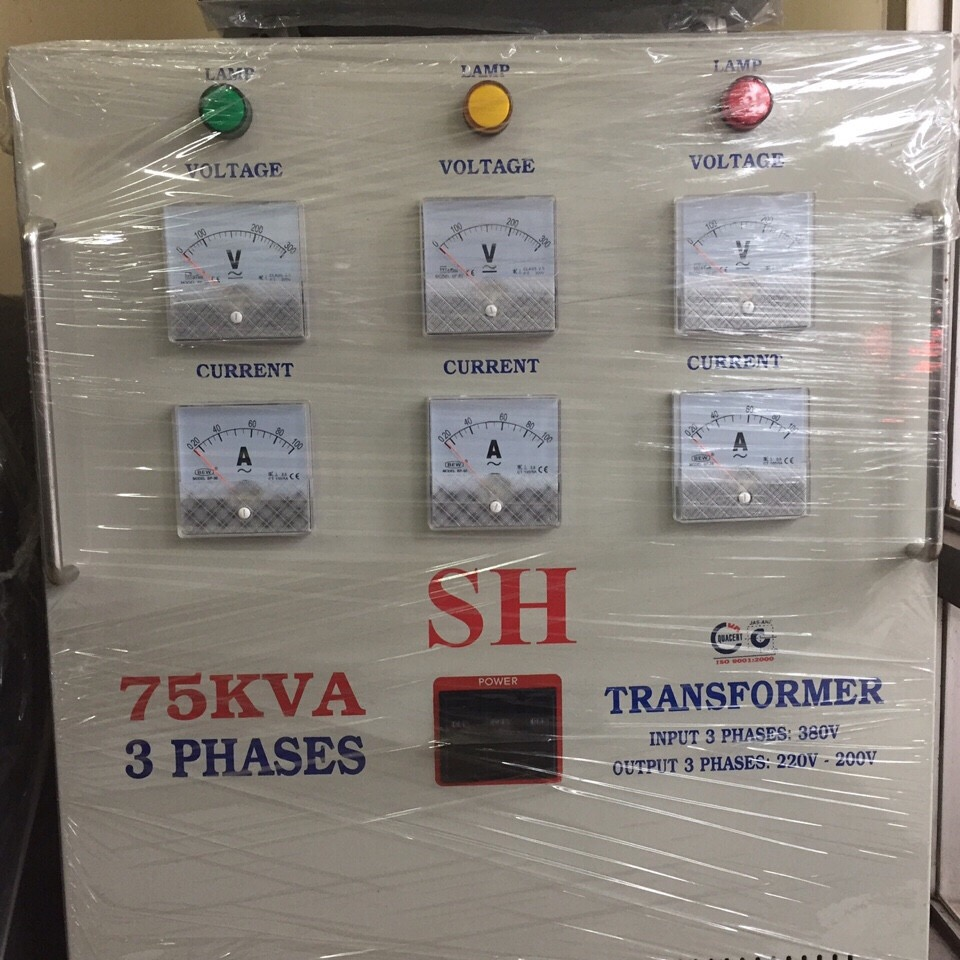 Biến thế điện Transformer 75KVA