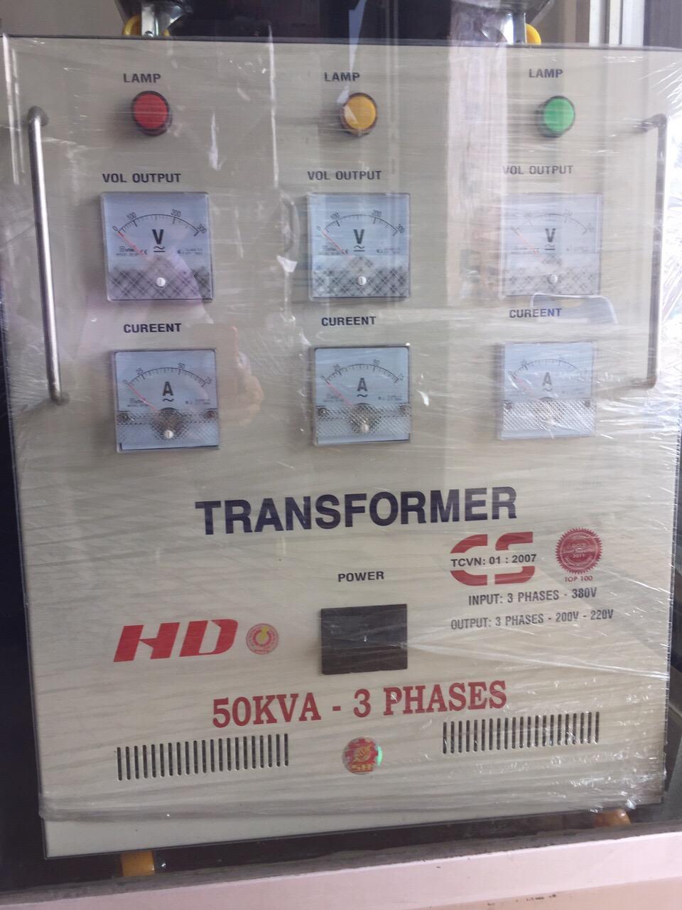 Máy Biến Thế 50KVA Hiệu HD