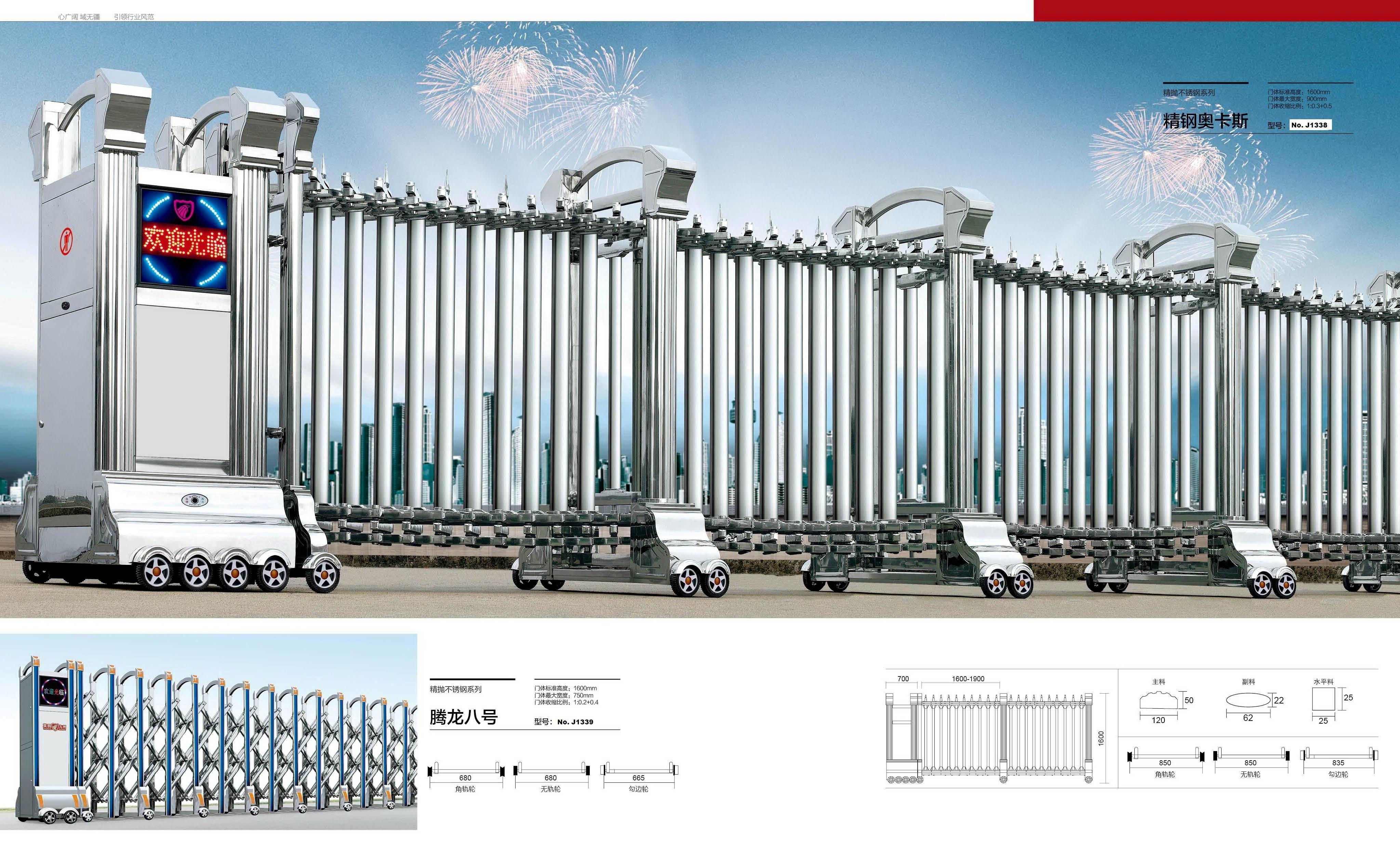 Cổng xếp tự động bình dương- 0913183440