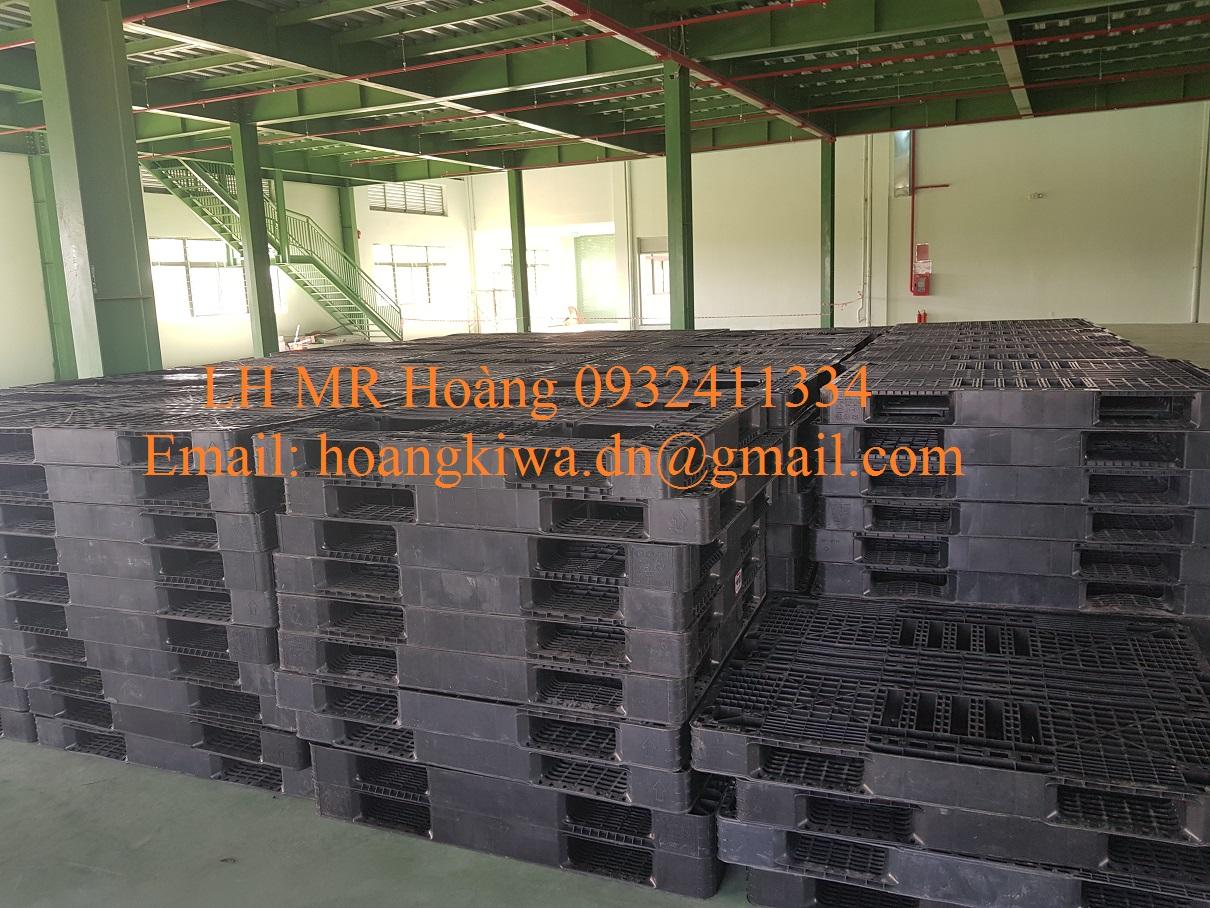 Công ty bán pallet nhựa cũ giá rẻ tại Đà Nẵng, Huế, Quảng Nam 0932411334