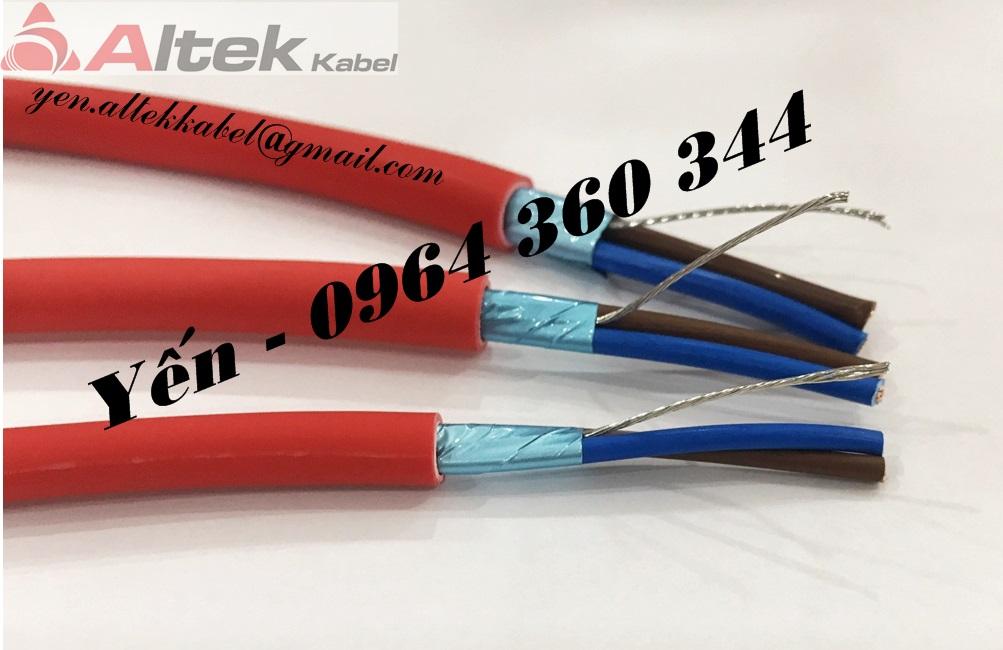 Cáp chống cháy/ kháng cháy chống nhiễu Altek Kabel giá tốt