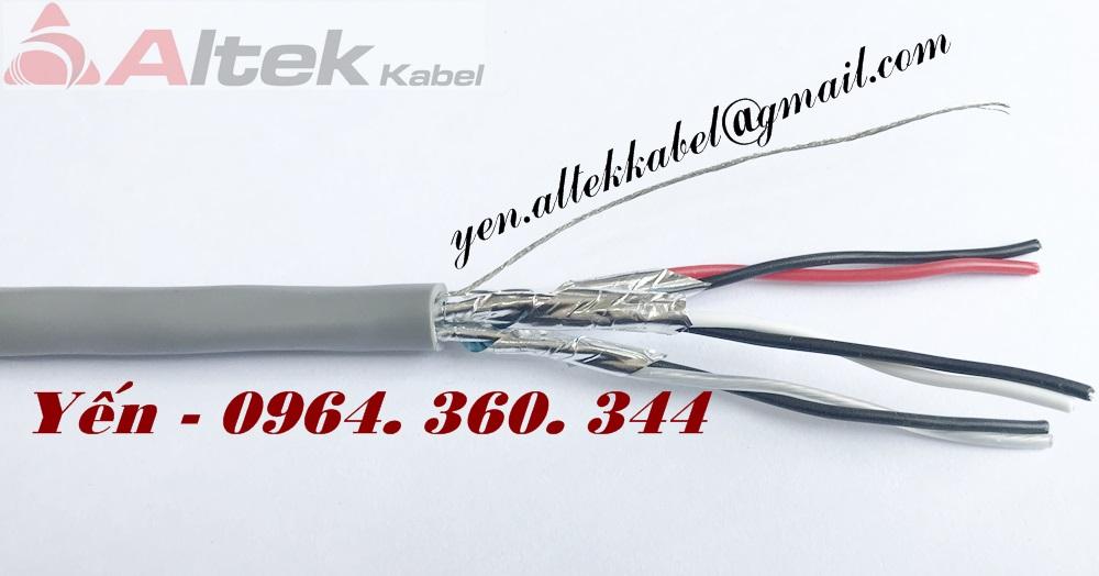 Cáp điều khiển - cáp tín hiệu - cáp vặn xoắn chống nhiễu Altek Kabel
