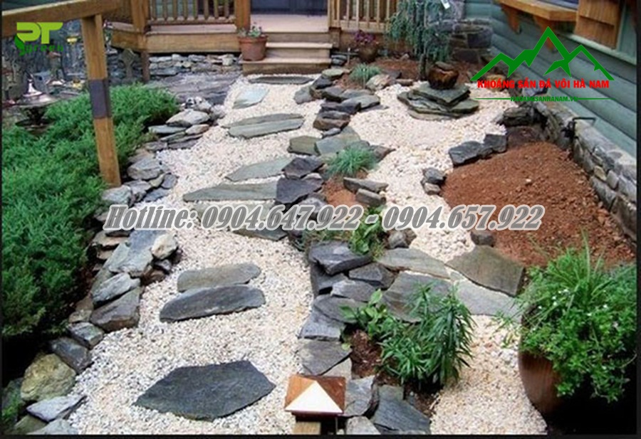 Bán Đá – Sỏi cuội trang trí sân vườn giá rẻ nhất