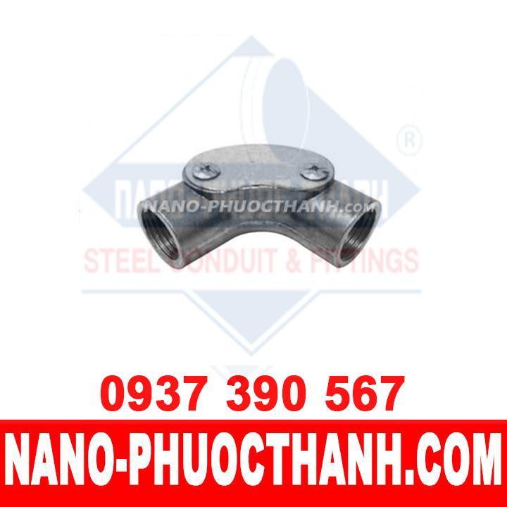 Co đúc ống thép luồn dây điện IMC 90º - NANO PHƯỚC THÀNH