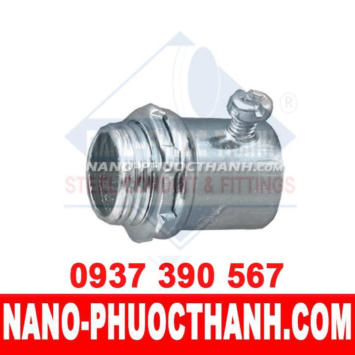 Đầu nối ống thép luồn dây điện EMT - NANO PHƯỚC THÀNH